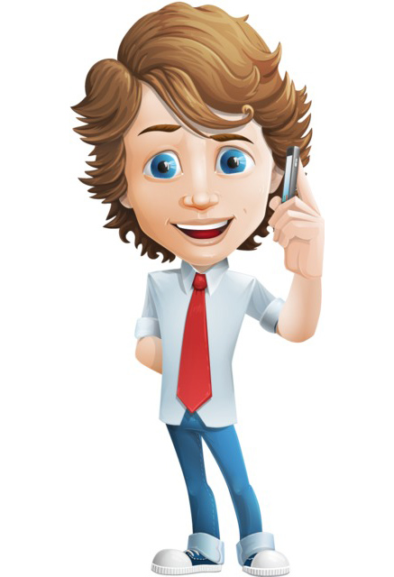 boy character clipart