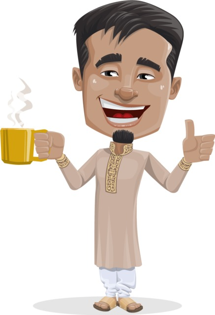 Indian character clipart