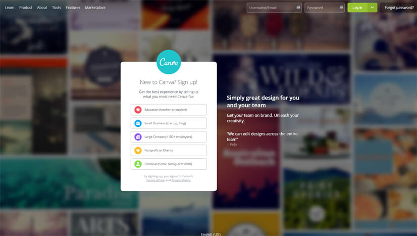 Canva Infographic Creator Tool