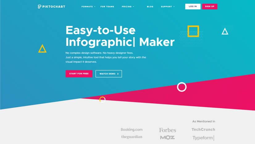 Piktochart Infographic Creator Tool
