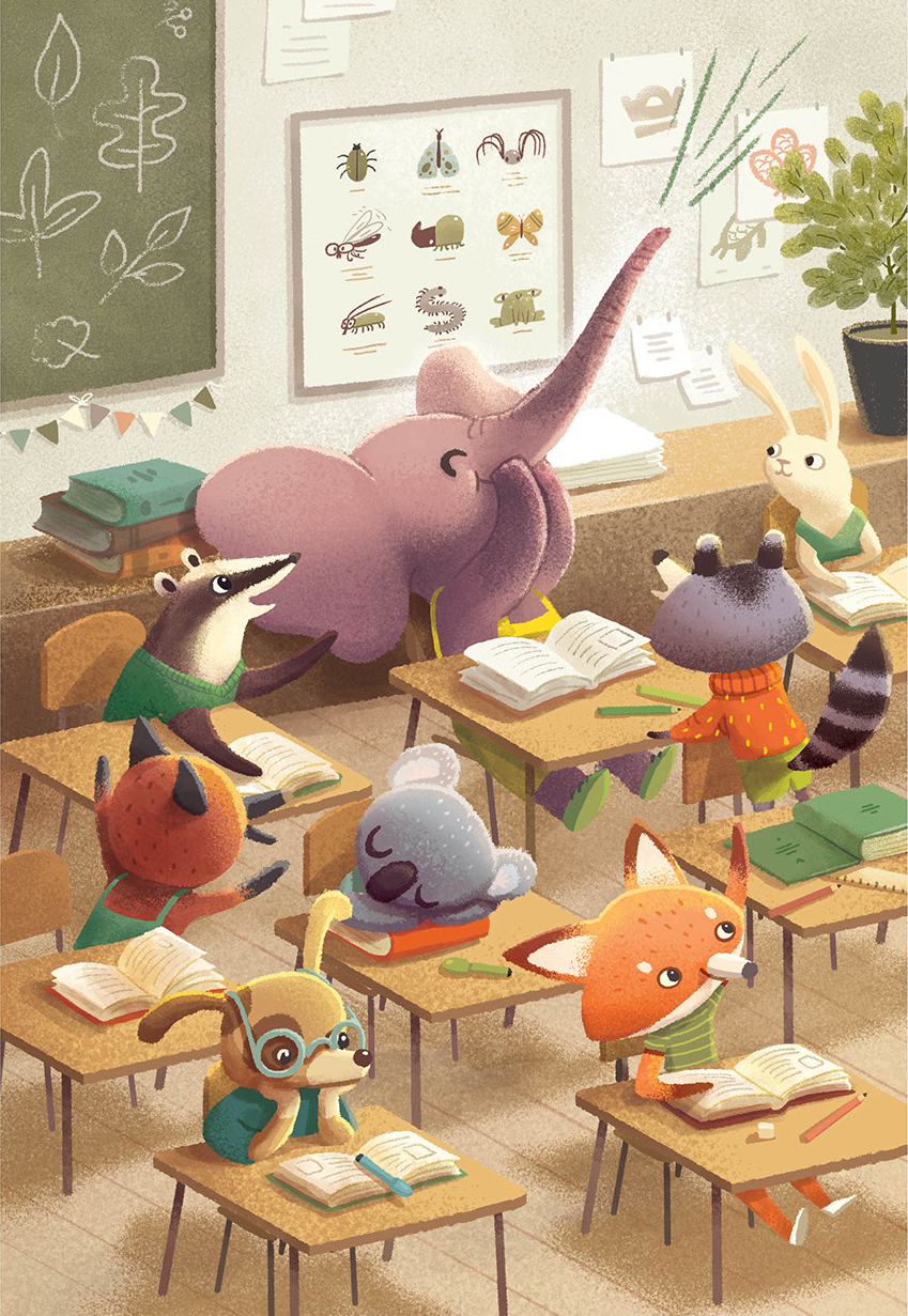 Children Book Illustration school