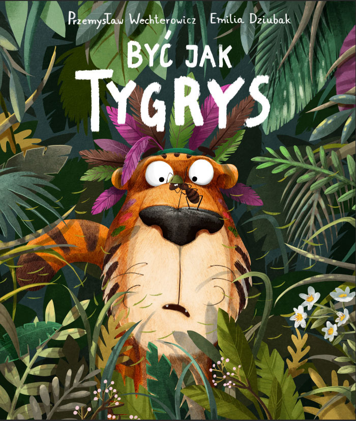 Children Book Illustration tiger