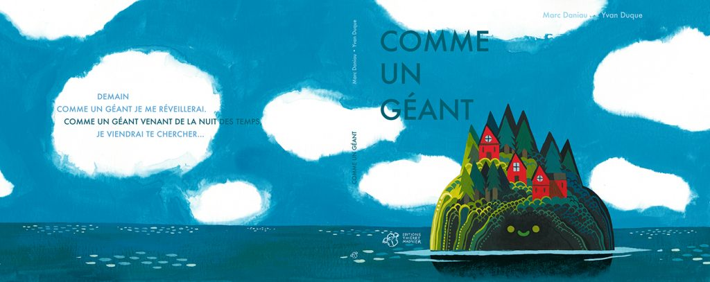 Children Book Illustration comme un geant