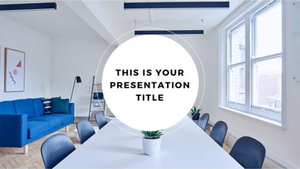 free powerpoint template strategy