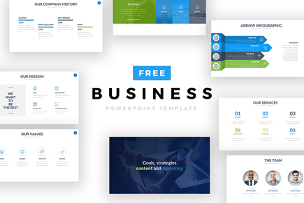 Free Ppt Templates | The Best Free Powerpoint Templates To Download In 2018 Graphicmama