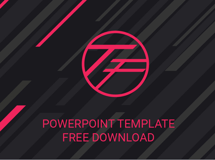 The best free powerpoint templates to download in 2018 graphicmama a free powerpoint template in trendy design maxwellsz