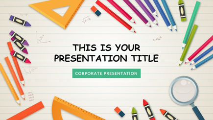 The best free powerpoint templates to download in 2018 graphicmama free powerpoint template for school maxwellsz