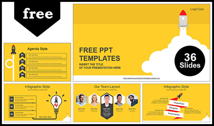 The best free powerpoint templates to download in 2018 graphicmama free powerpoint template education theme toneelgroepblik Choice Image