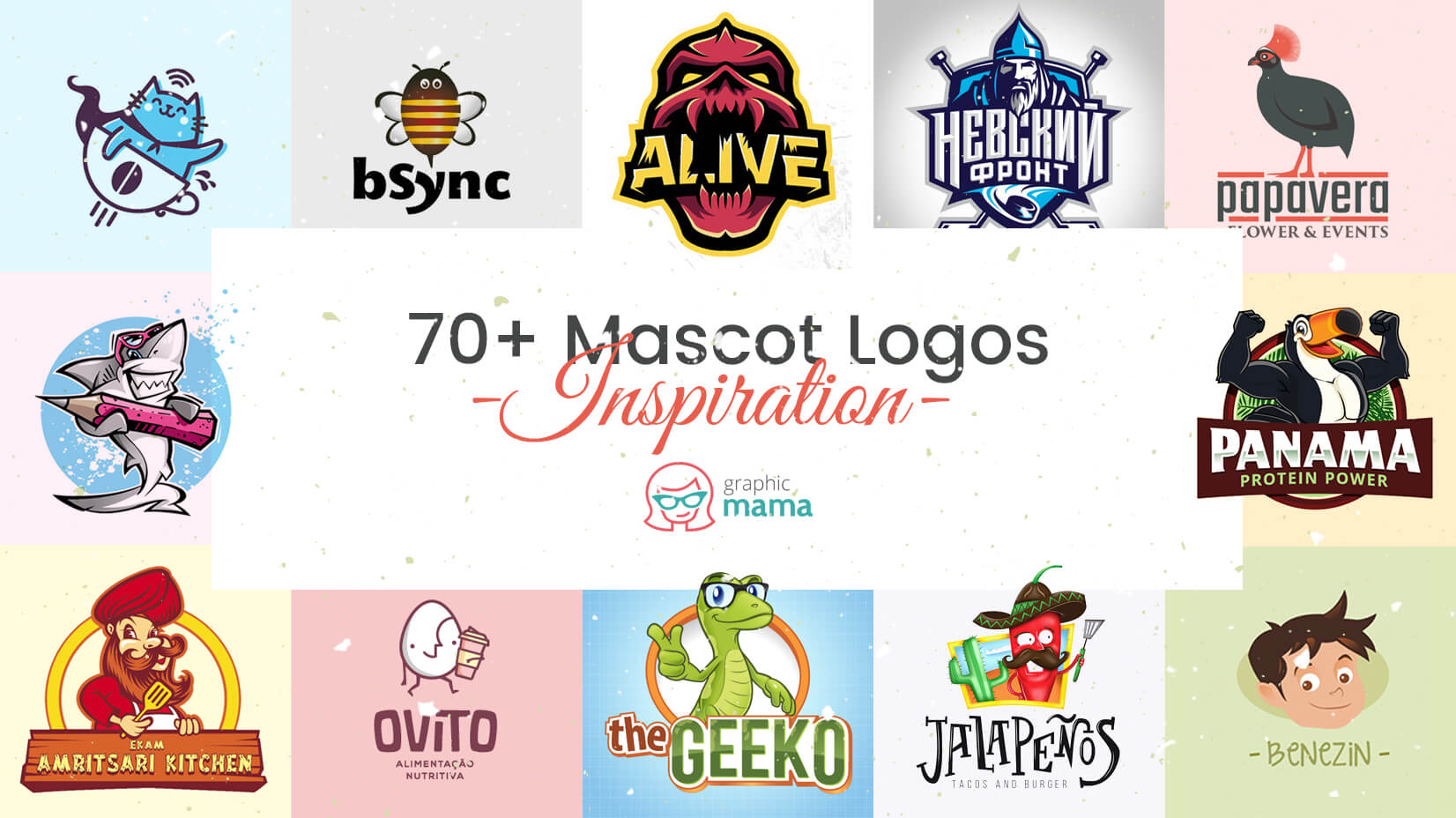 70+ Mascot Logos that Will Definitely Impress You