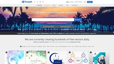 Freepik vs Vecteezy: Freepik Graphic resources for everyone