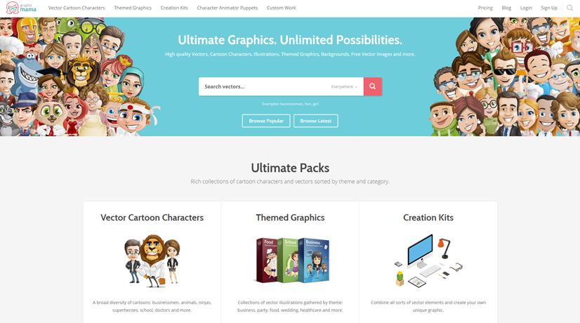 graphicmama character designer services