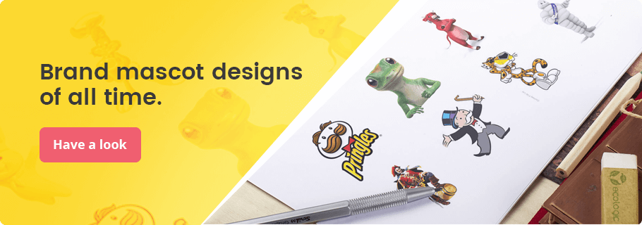 Brand mascot designs of all time
