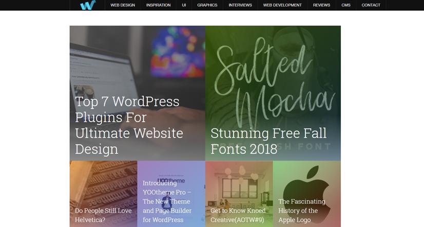 design blogs - web design ledger