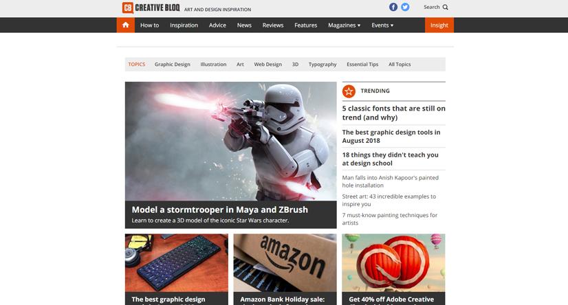 design blogs - creative bloq