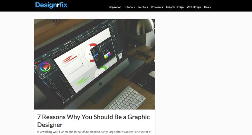 design blogs - designrfix