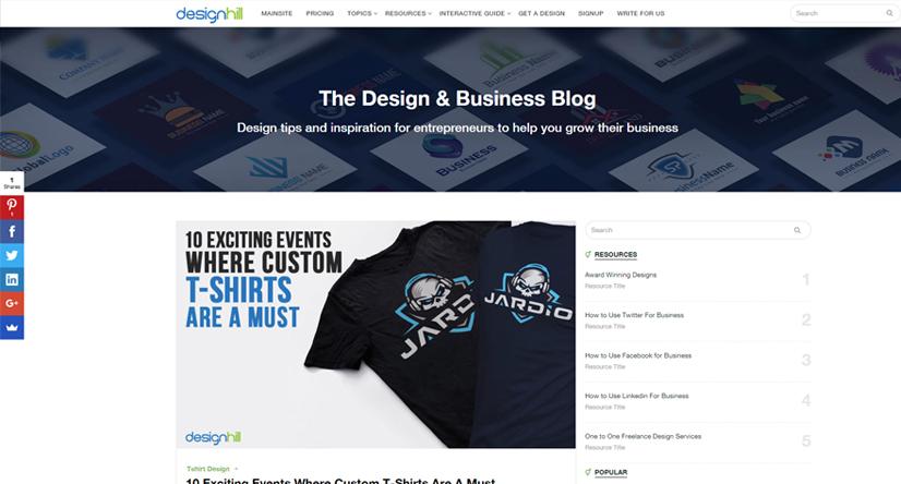 design blogs - designhill