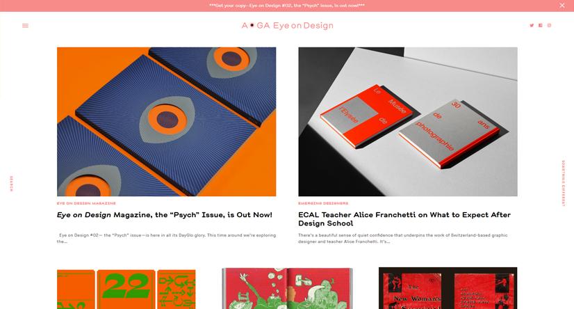 design blogs - eye on design