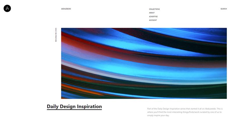 design blogs - Abduzeedo
