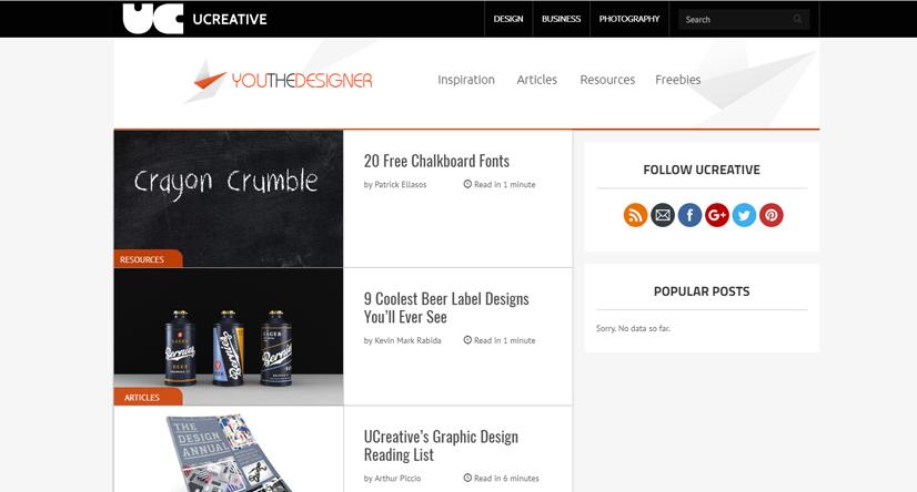 design blogs - ucreative