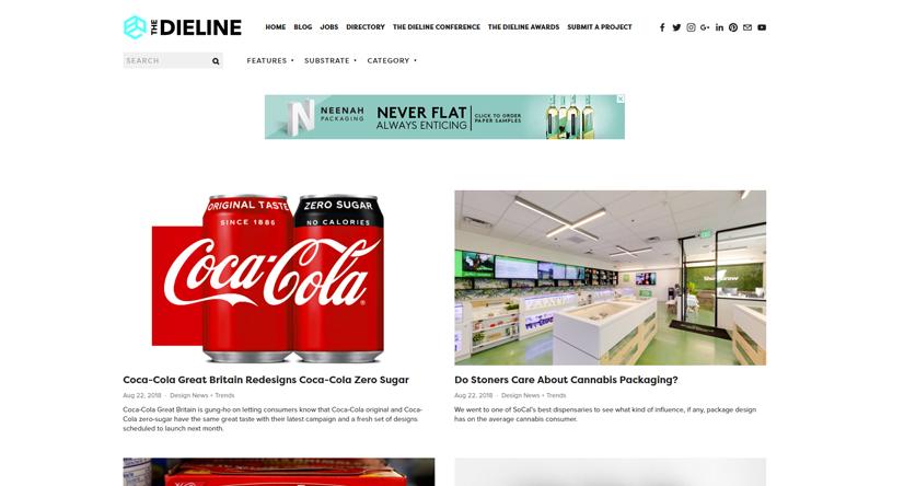 design blogs - the dieline