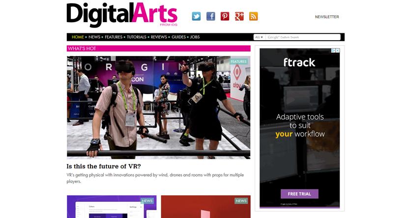 design blogs - digital arts