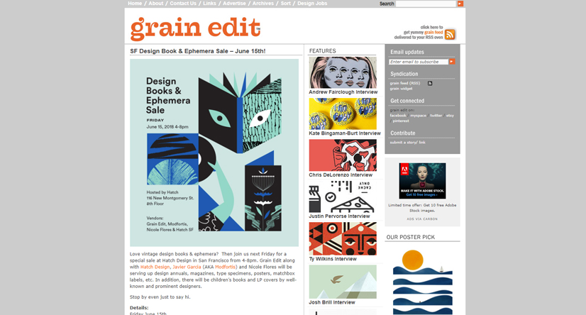 design blogs - grain edit