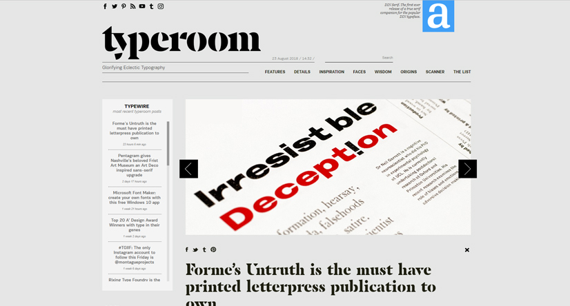 design blogs - typeroom