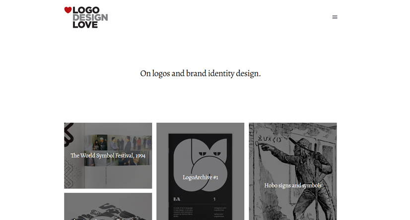 design blogs - logo design love