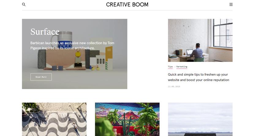 design blogs - creative boom