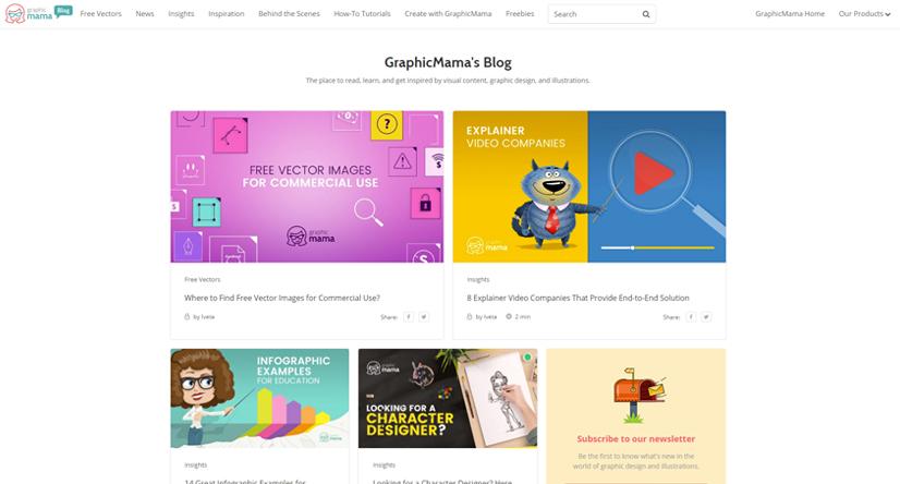 design blogs - graphicmama
