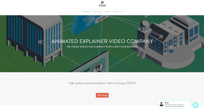 yans media explainer video company