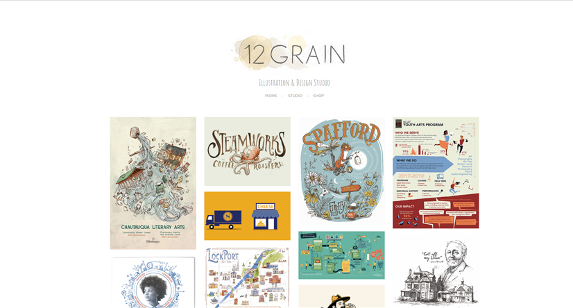 illustration studio 12 Grain