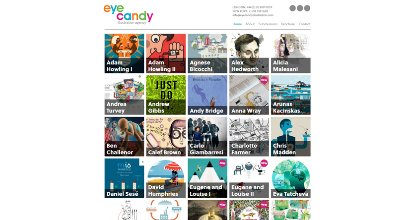 Eye Candy illustration company