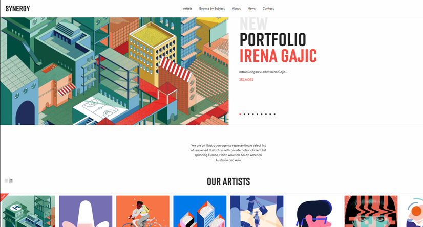 Synergy illustration agency