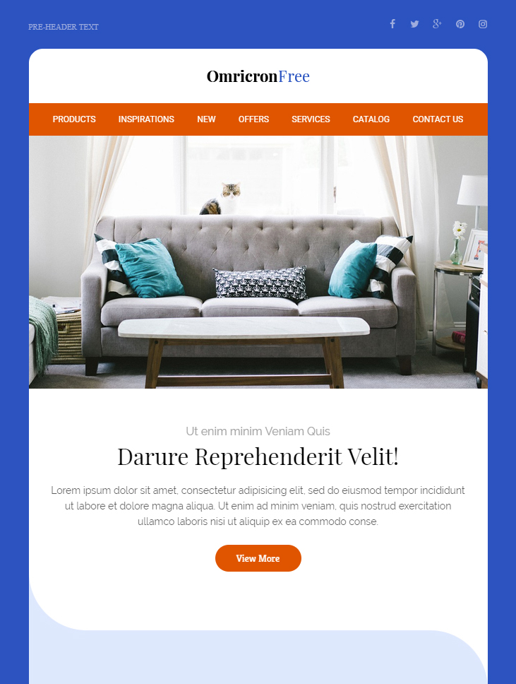 99 free responsive html email templates to grab in 2018 mailbakery omricron free html email template maxwellsz