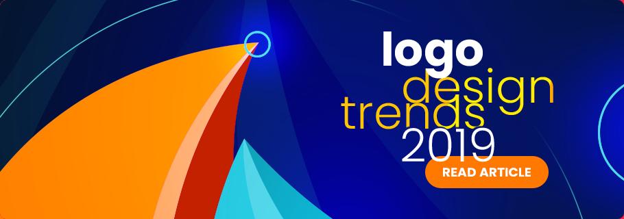 logo design trends 2019 banner