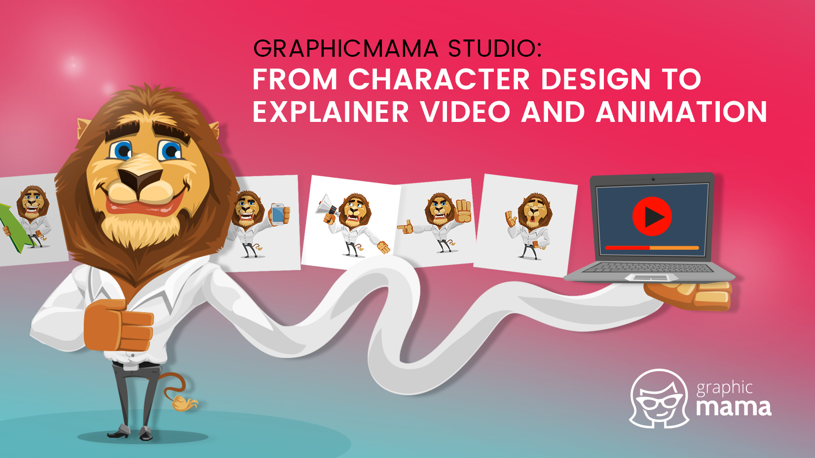 GraphicMama studio: From Character Design to Explainer Video and Animation