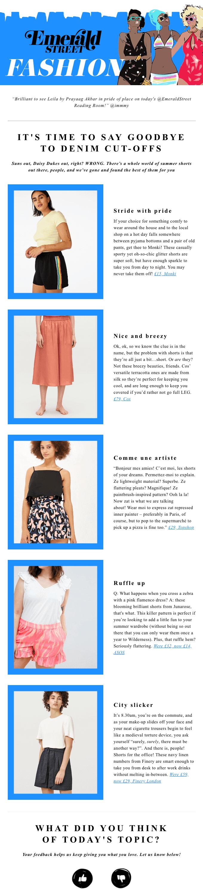 hasta-la-vista-daisy-dukes-email-newsletter-examples