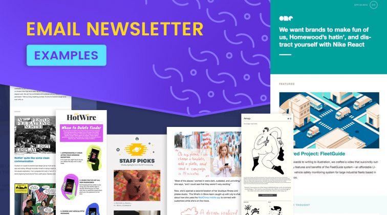 Email Newsletter Examples: 10 Brands that Enchant the Inbox