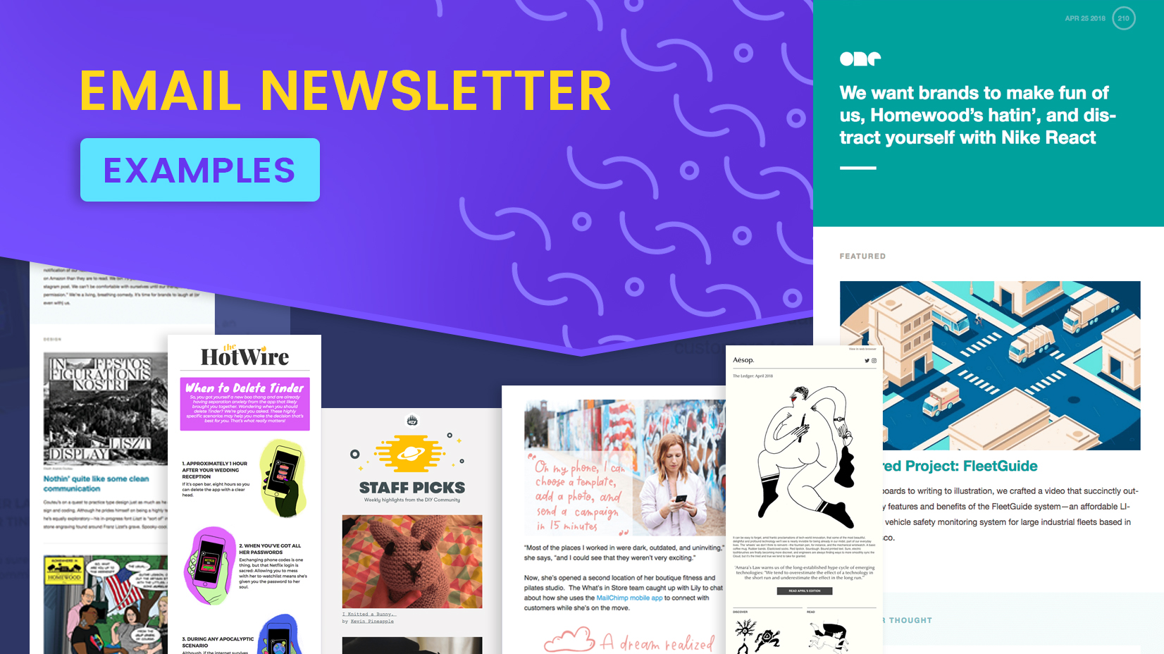email newsletter examples  10 brands that enchant the inbox