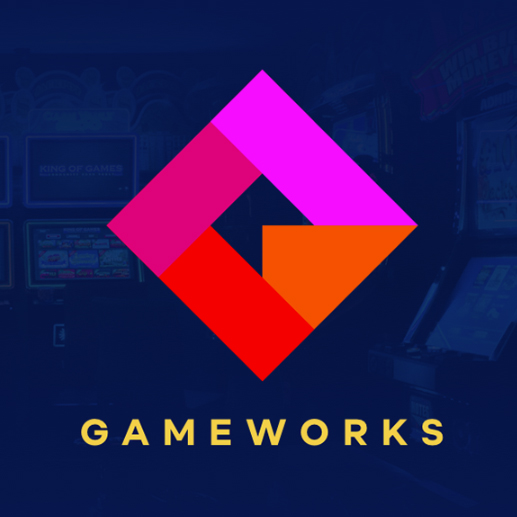 Gameworks logo design