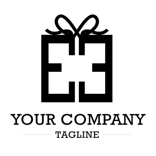 Box Gift Logo Design
