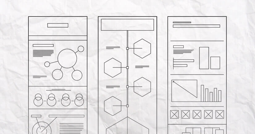 Make a wireframe for your infographic