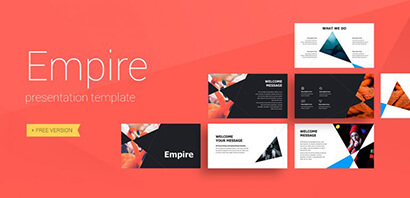Empire Business Free PowerPoint Template