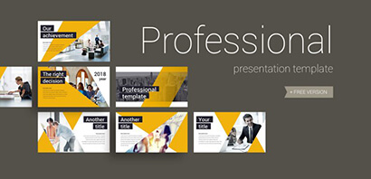 Professional Business Free PowerPoint Template