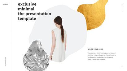 Minimalistic Design Free PowerPoint Template