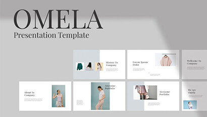 Omela Free PowerPoint Presentation Template