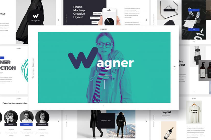 Wagner Multipurpose Free PowerPoint Template