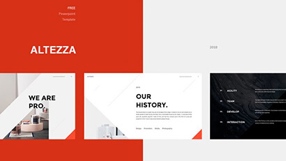 ALTEZZA Free PowerPoint Template