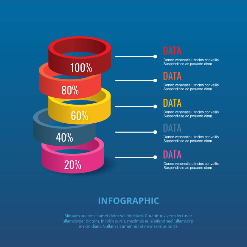 How to make vector infographic in 5 minutes finished result